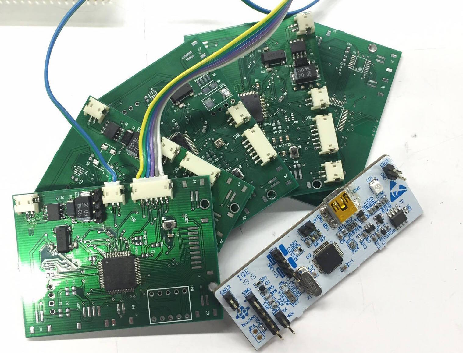 Autopot Bluetooth Pcb Circuit Module Ourpcb Initial Pcbs Particle P1